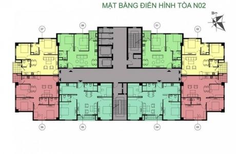 thiết kế căn hộ N02