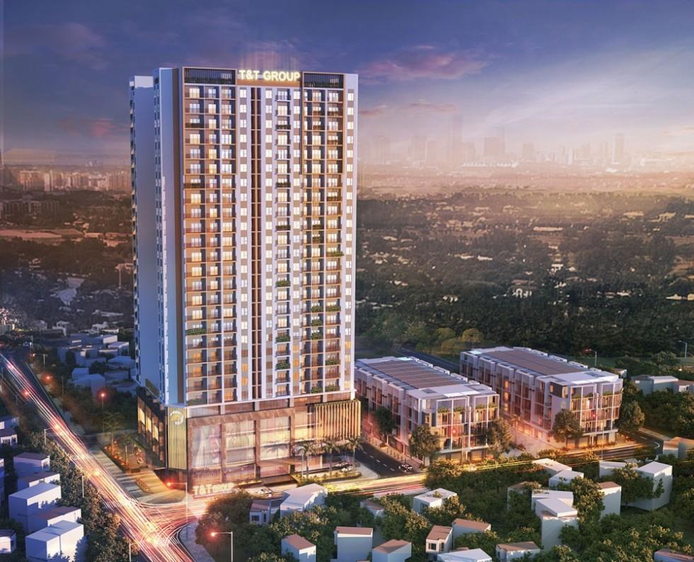 Chung cư T&T DC Complexm 120 Định Công