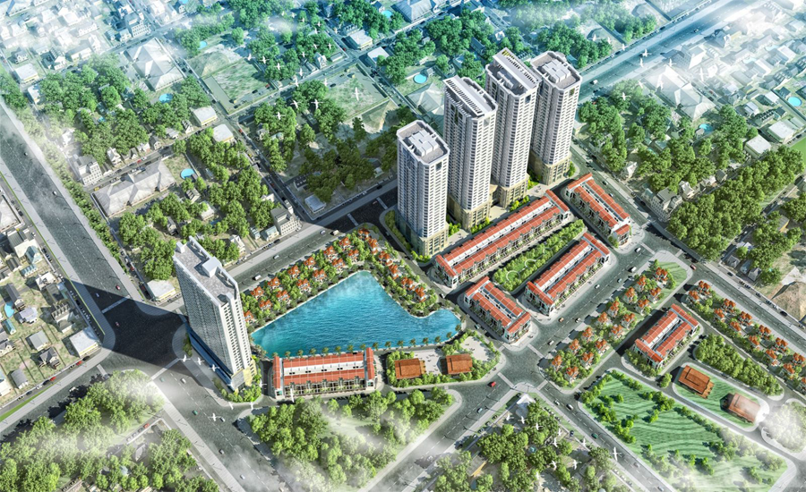 Chung cư FLC Garden City Đại Mỗ.