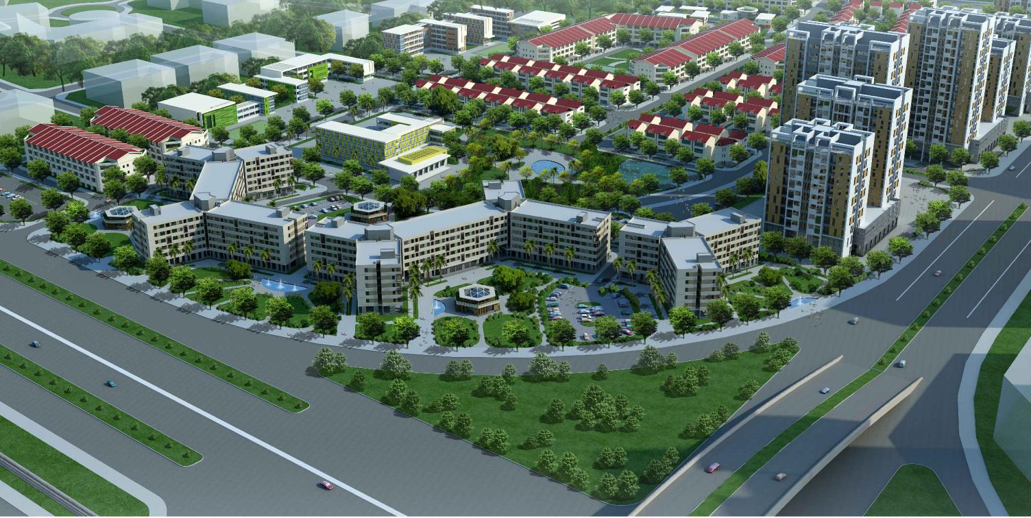 Khu nhà ở Hưng Thịnh - Nhà ở xã hội Kiến Hưng, Hà Đông.