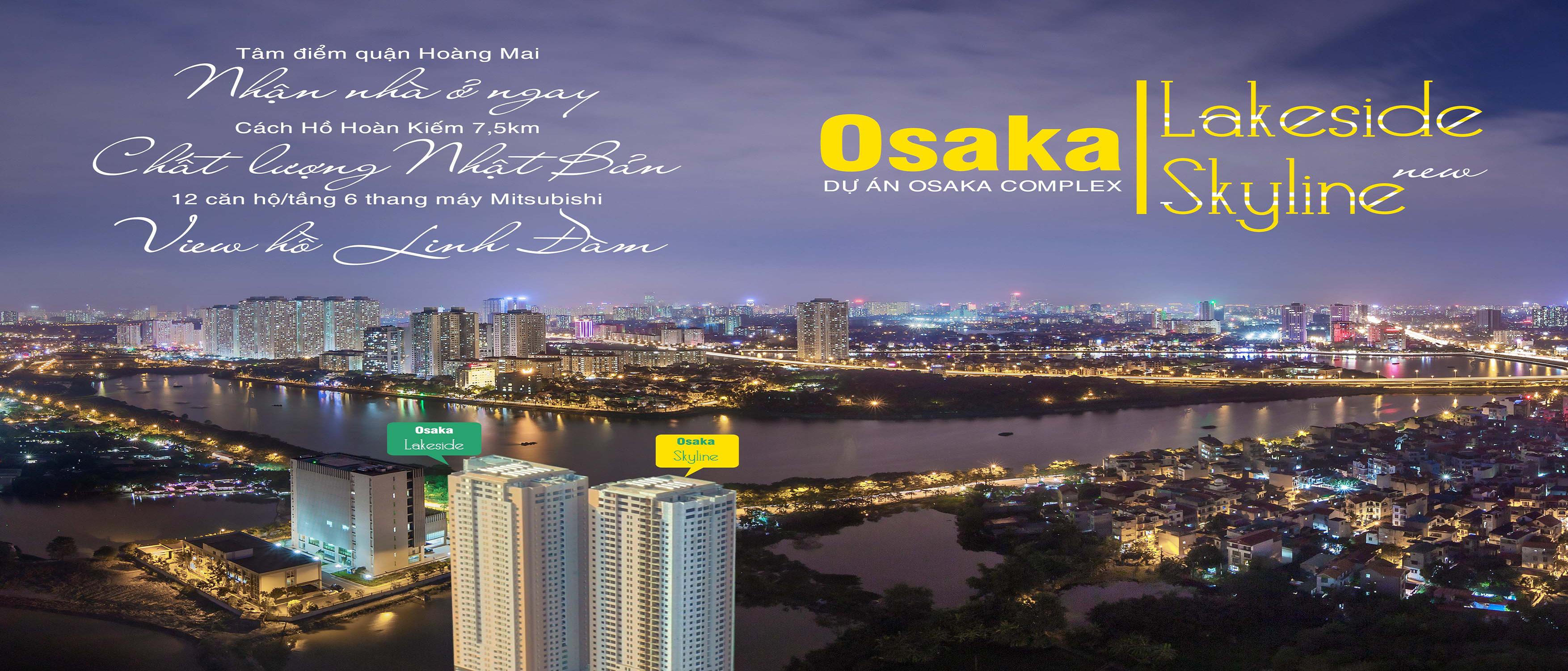 Chung cư Osaka Skyline Hoàng Mai