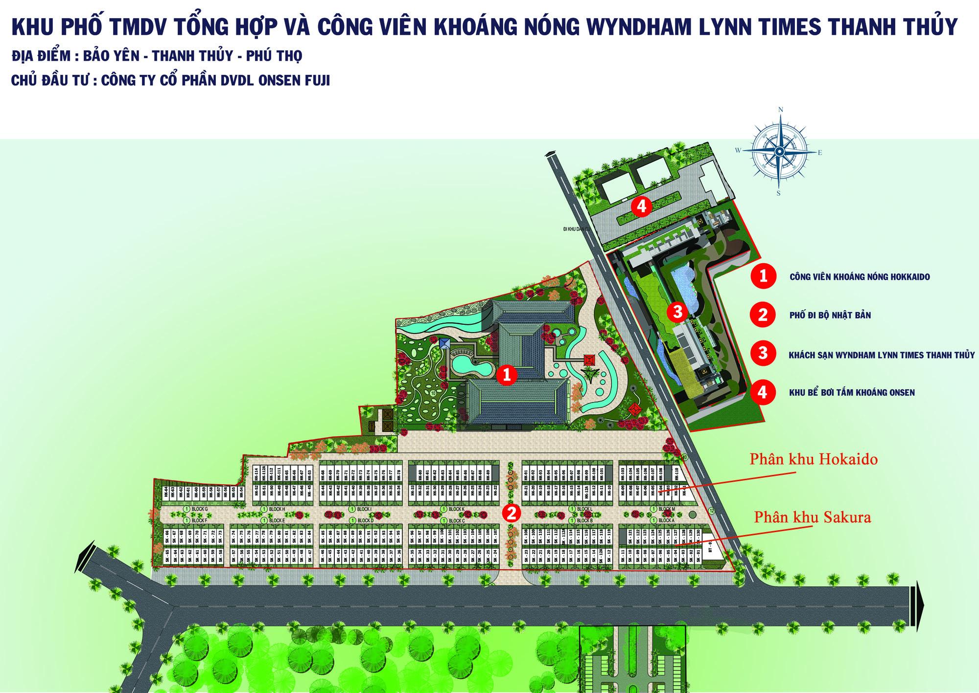 Shophouse, liền kề Wyndham Thanh Thủy